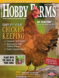 Hobby Farms – March/April 2009