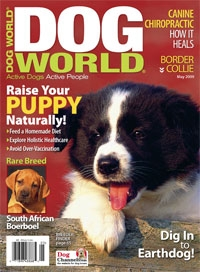May 2009 Dog World Magazine Cover