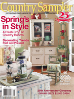 Country Sampler Magazine – May 2009