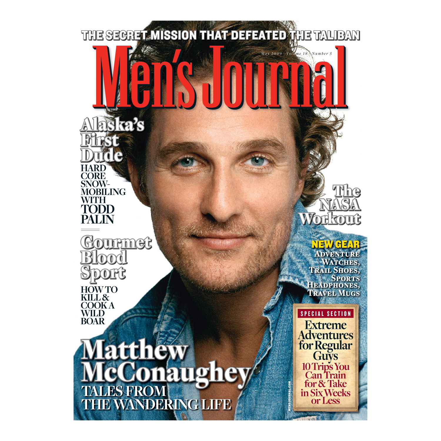 Men's Journal Magazine – May 2009