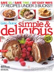 Simple and Delicious – May/June 2009