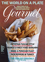 Gourmet Magazine – May 2009