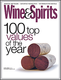 Wine and Spirits Magazine &#8211; June 2009