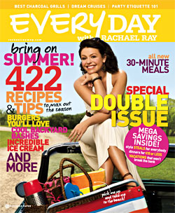 Everyday with Rachael Ray Magazine – June/July 2009