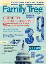 Family Tree Magazine – July 2009