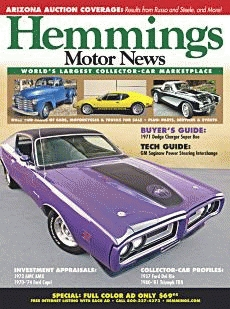 Hemmings Classic Car Magazine – May 2009